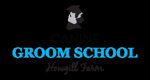 canine groom school logo